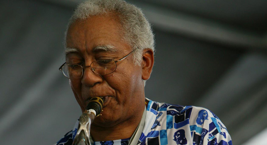 """New Orleans saxophonist Edward """"Kidd"""" Jordan makes his traditional festival-time visit, playing three shows this weekend in a quartet with Alvin Fielder, Joshua Abrams, and Jim Baker."""