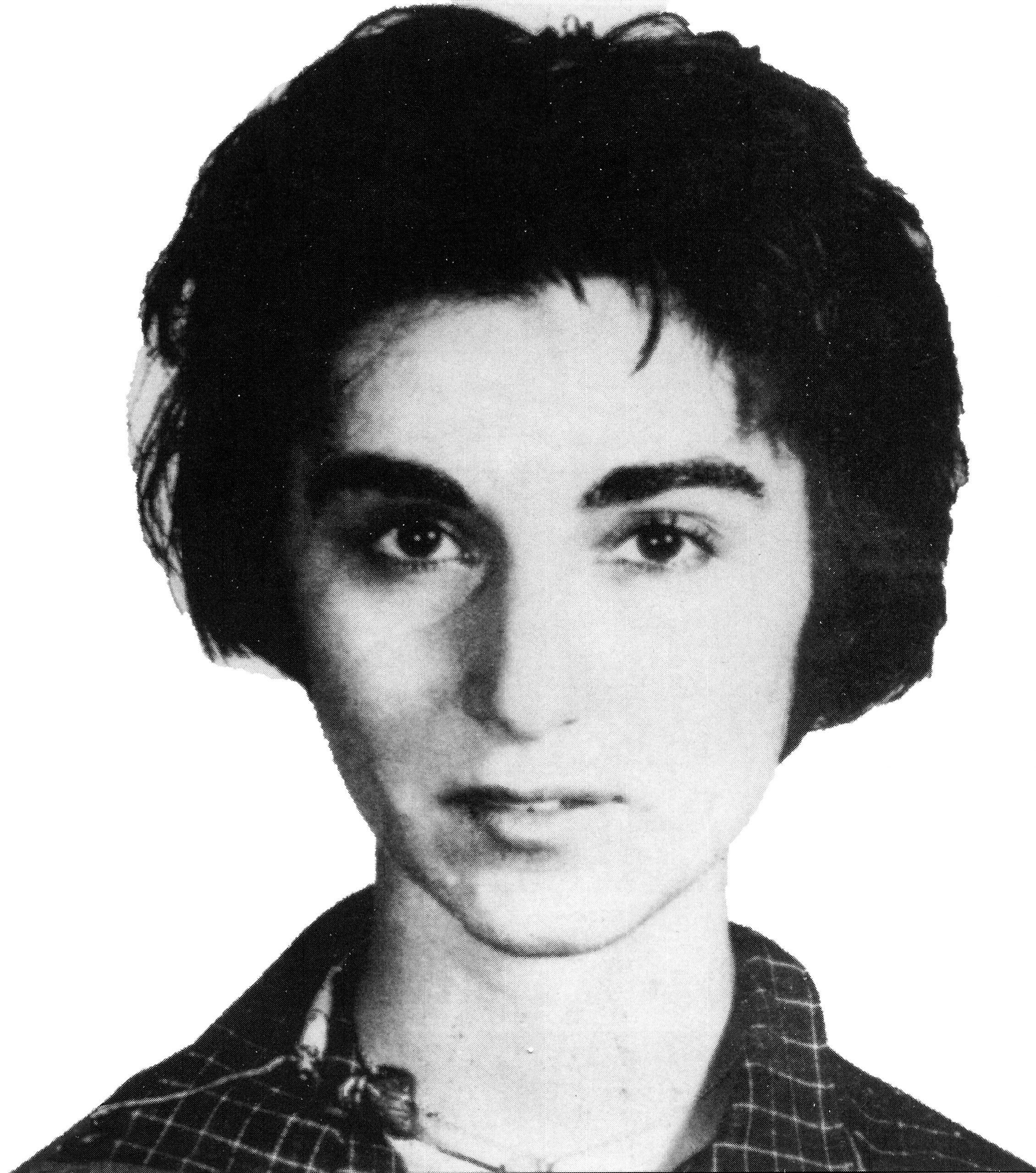 Genovese in a 1961 mug shot, following a gambling arrest