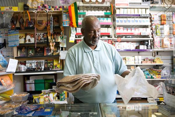 Assefa Retta at Kukulu Market