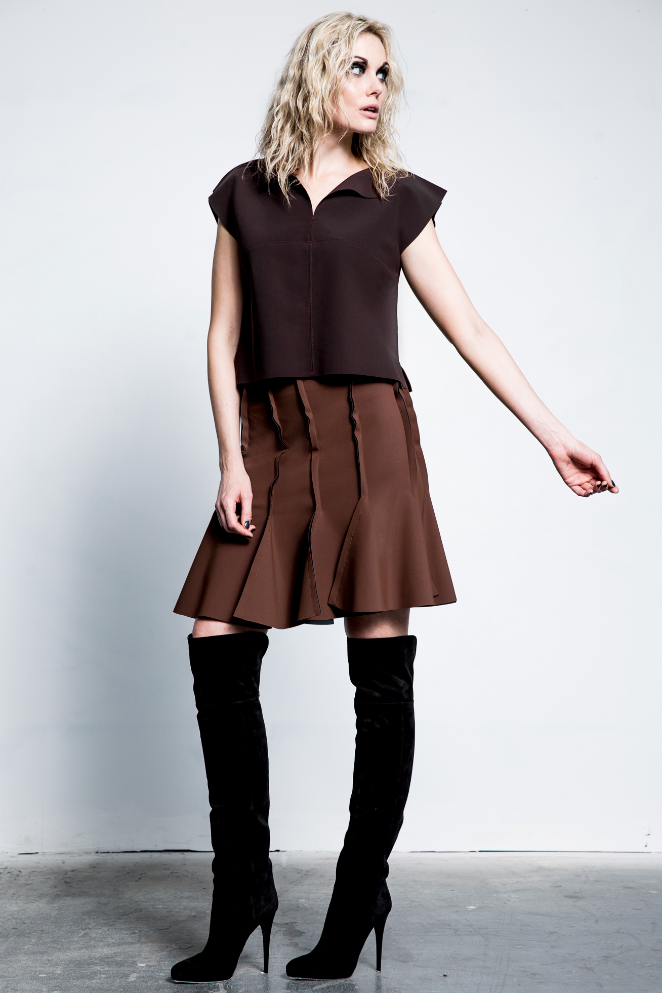"""Prefall pieces by Maria Pinto inspired by the """"square"""""""