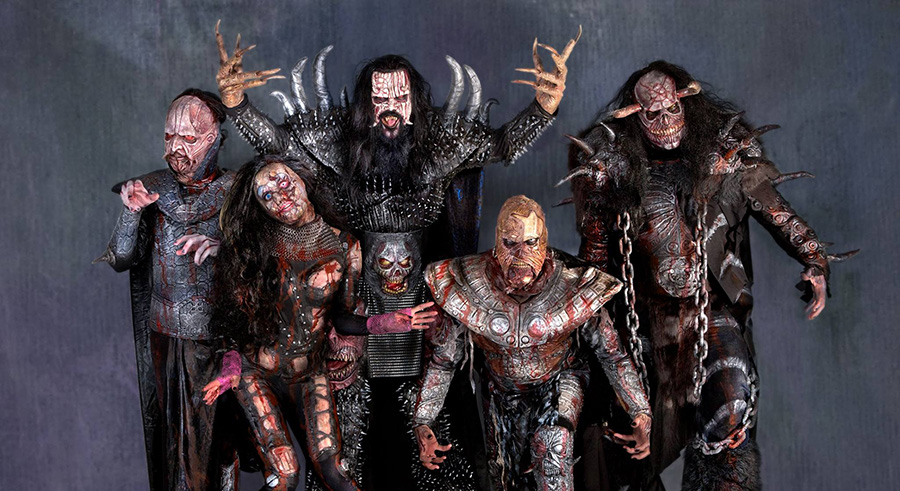 Horror metal group Lordi makes a rare appearance in the U.S. on Tue 2/14.