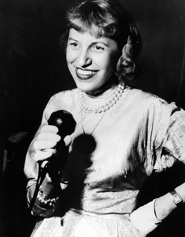 Lotte Lenya in Berlin in 1958