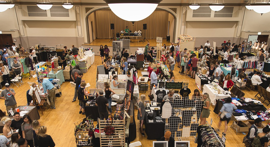 Shop for local goods at the <i>Reader</i>'s Made in Chicago Holiday Market.