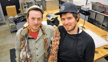 Jonny Hunter and Garin Fons