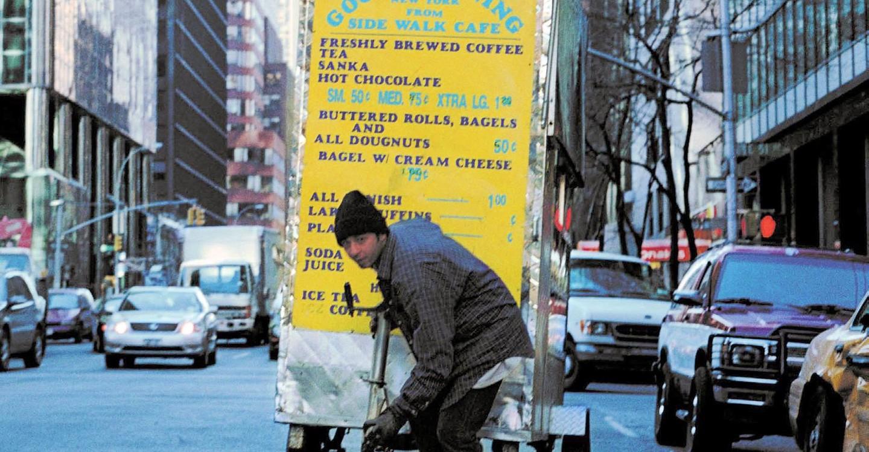 <i>Man Push Cart</i>