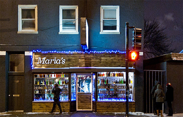 Maria's in Bridgeport. In 2023, will you be bragging you hung out there before it was cool?