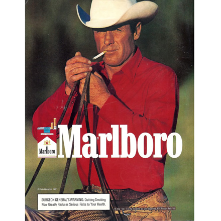 You may despise cigarettes, but give the manufacturers their due: they knew how to make boys want to be men.