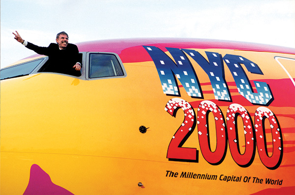 Max's art appeared on a Boeing 777.