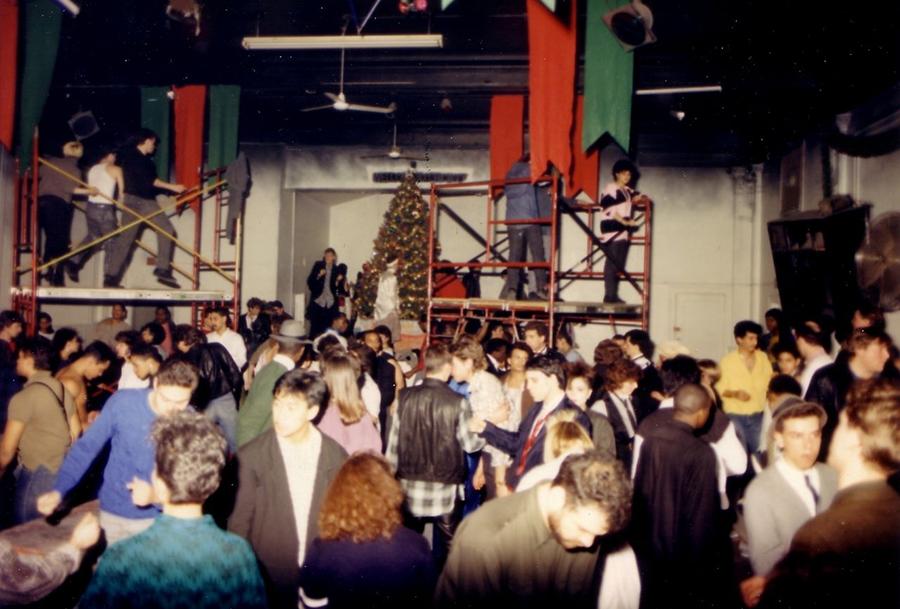 The dance floor at the original Medusa's location on Sheffield