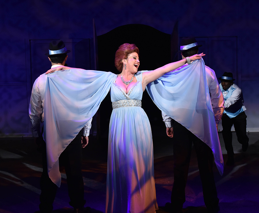 The musical <i>Merrily We Roll Along</i> runs for one last weekend.