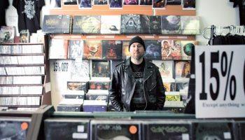 Mark Weglarz at Metal Haven