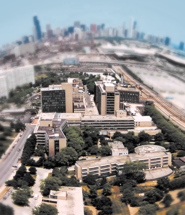 The Michael Reese Hospital campus