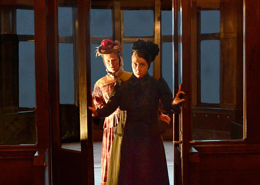 Lifeline Theatre's <i>Miss Holmes</i>