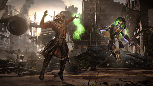 """Ermac finishes off Raiden in Mortal Kombat X. The brutal """"fatalities"""" in the new title have some gamers and critics wondering if Chicago-based NetherRealm Studios has finally gone too far."""