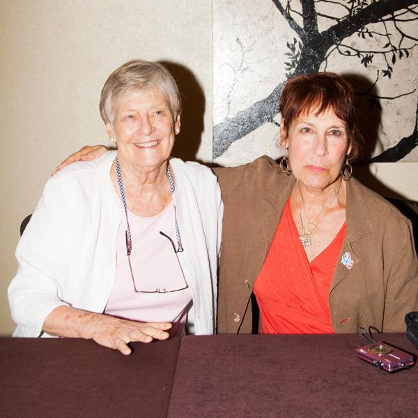 My Little Pony creator Bonnie Zacherle and designer Susanne Riette-Keith