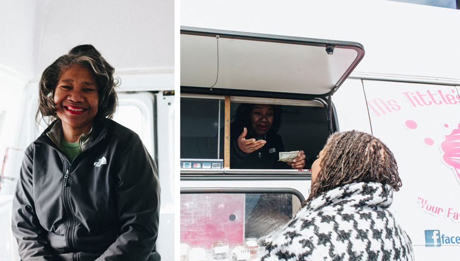 Denita Tittle, owner of Ms. Tittle's Cupcakes, says that if she had to do things over she would never have launched her food truck.
