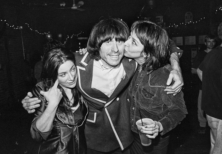 Beatle Bob and friends at the Empty Bottle on New Year's Eve 1999