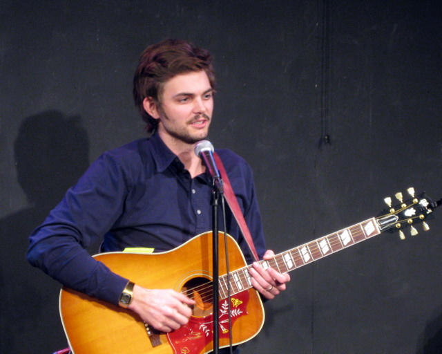 Comedian Nick Thune plays some tunes at Up Comedy Club Sat 1/6.