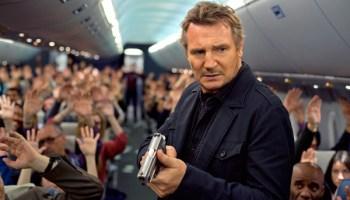 Liam Neeson in <i>Non-Stop</i>