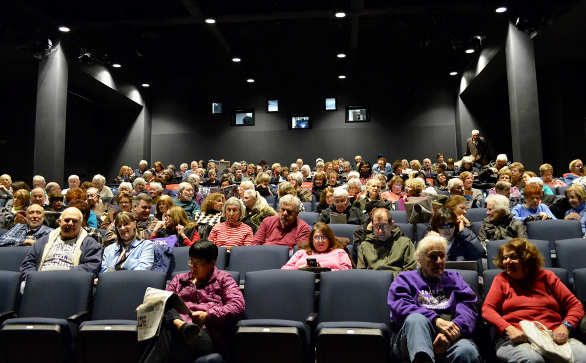 The public turned out for the library's screening of the Oscar-award winning film <i>The Shape of Water</i> in March