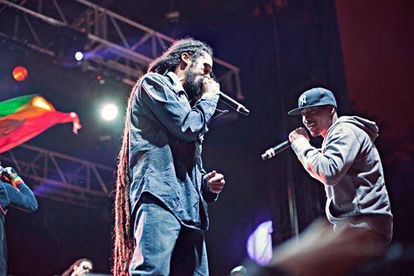 Damian Marley, Nas