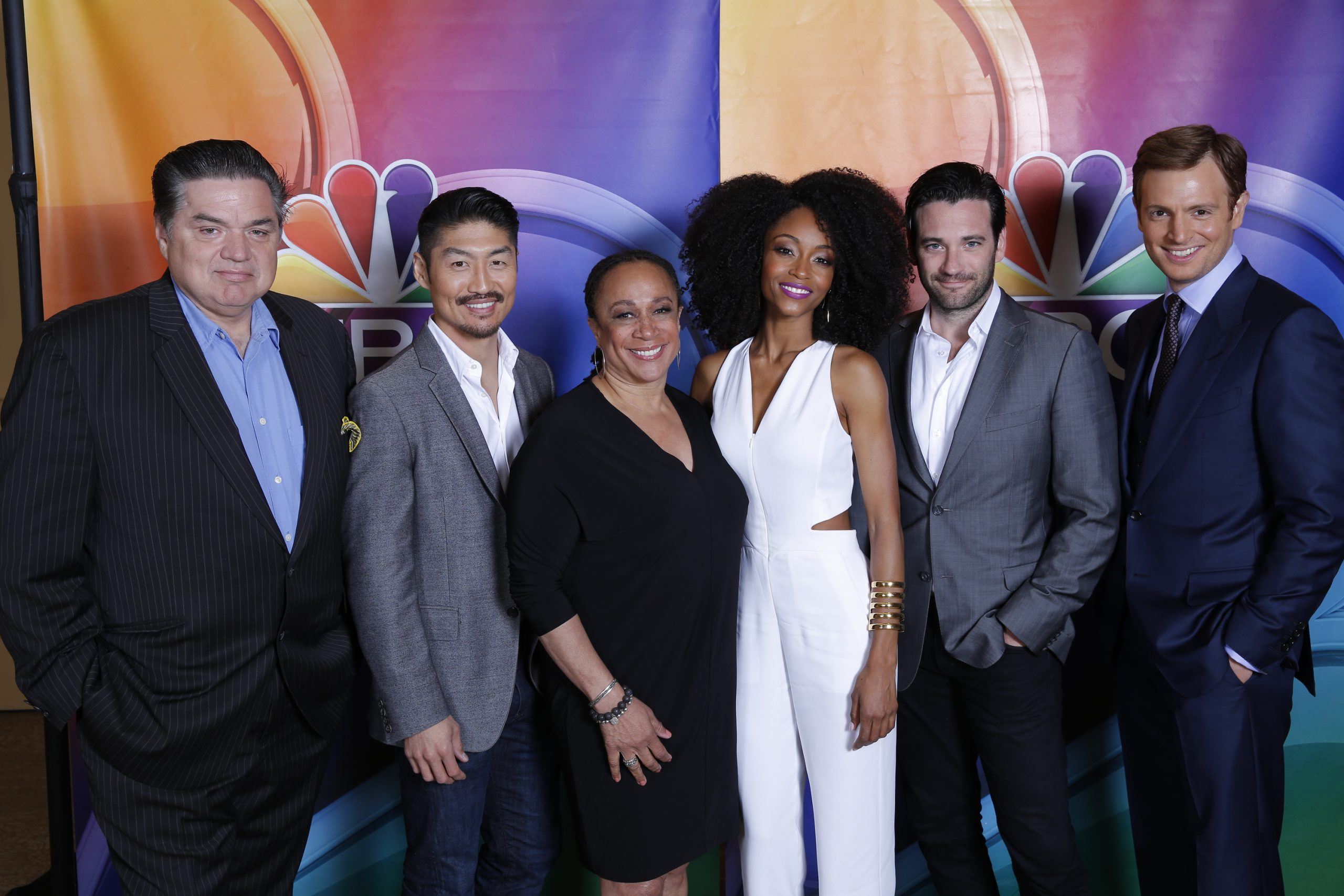 The cast of <i>Chicago Med</i> during the Television Critics Association summer press tour