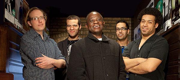 Nathaniel Braddock, Greg Ward, Samba Mapangala, Joshua Ramos, and Makaya McCraven