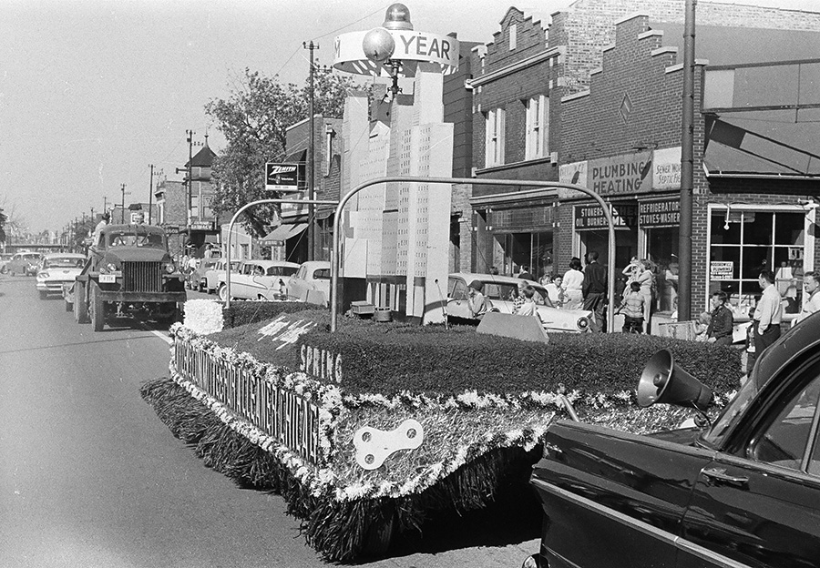 The Old Fashioned Days parade