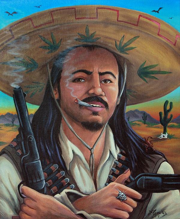 <em>Self Portrait (Bandito)</em> by Fernando Ramirez