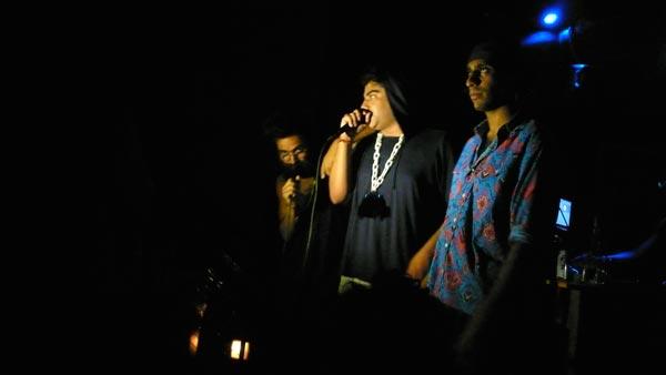 "Das Racist: Victor Vazquez, Himanshu Kumar Suri, and Ashok ""Dap"" Kondabolu"