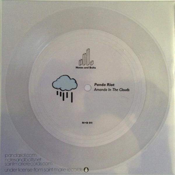 """Panda Riot's """"Amanda in the Clouds"""" flexi disc"""