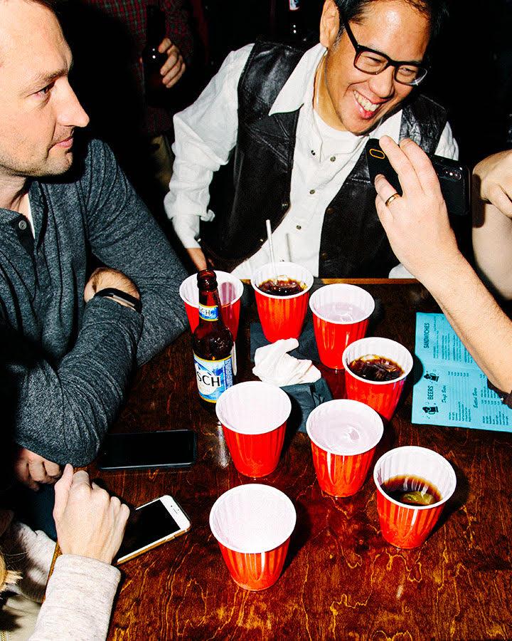 Carol's Pub patrons on Friday, December 21