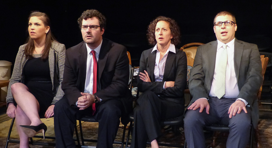Genesis Theatricals' <i>The People's Choice</i>, at Redtwist