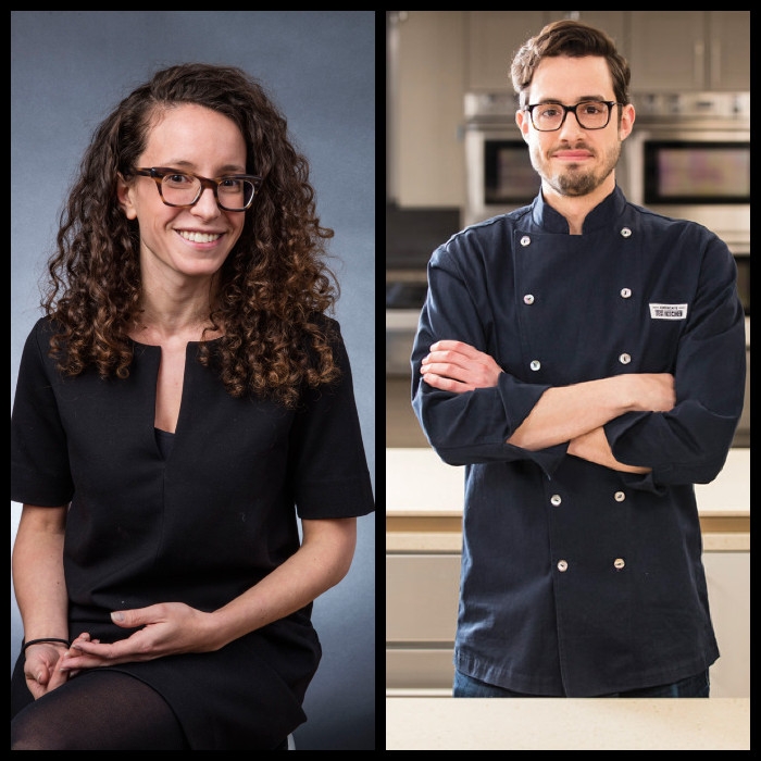 Molly Birnbaum and Dan Souza, the people behind Cook's Science