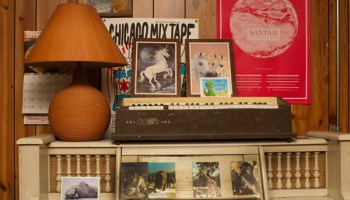 """""""It's a lifetime of fun toys,"""" Matt DeWine says of Pieholden Suite Sound's collection."""