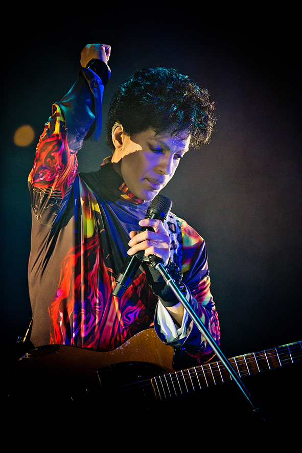 Prince at the United Center in 2012