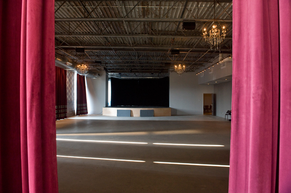 The upstairs music room at the Promontory, a new Hyde Park venue with a restaurant and bar on its ground level