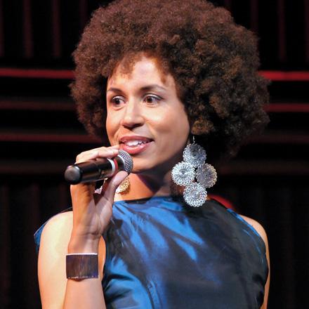 Jomama Jones sings soul music electric in Radiate