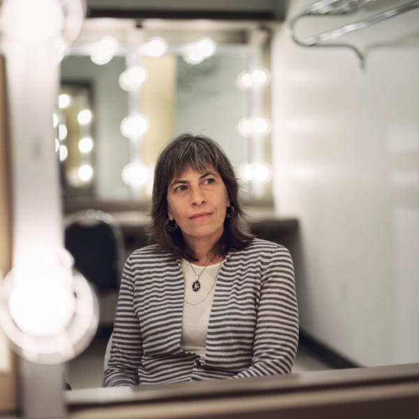 """""""The fun of writing plays,"""" Rebecca Gilman says, """"is that you have to inhabit everyone's point of view. Everybody, no matter how hideous, thinks they're justified."""""""