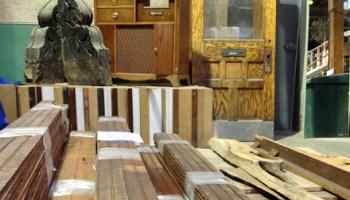 Reclaimed building materials at Rebuilding Exchange