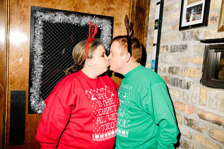 'Tis the season for <i>Christmas Vacation</i> couples sweaters.