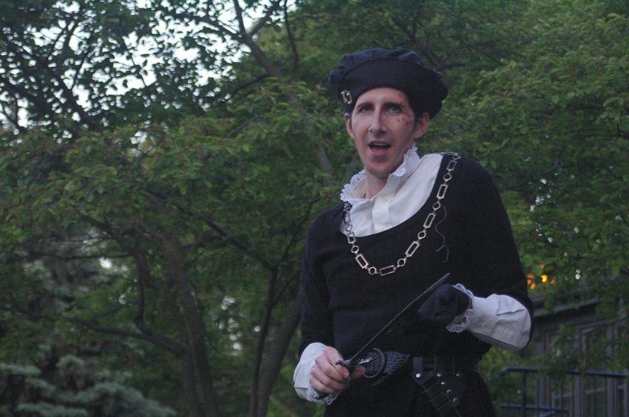 <i>Richard III</i>, at Indian Boundary Park