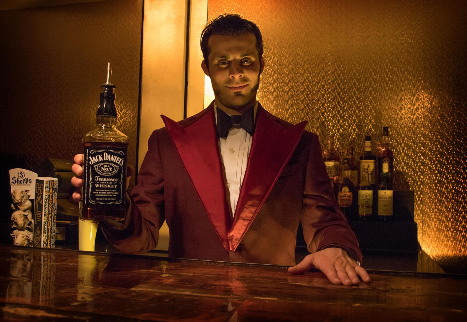 Grab a bourbon and an axe at Room 237 Sat 1/20.