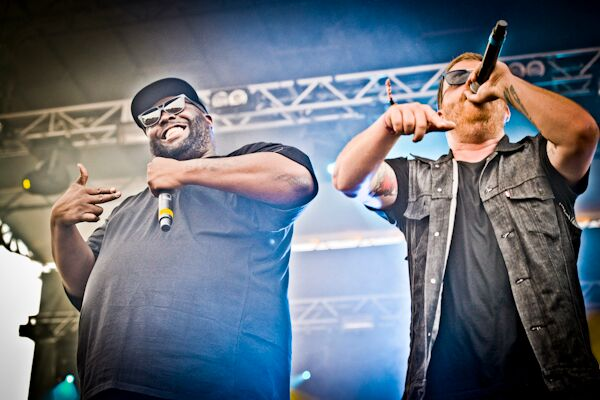 Run the Jewels, as loud and as lively as they want to be