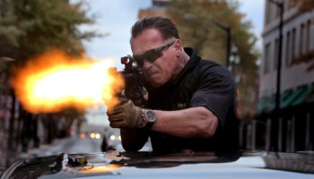 Arnold Schwarzenegger in <i>Sabotage</i>