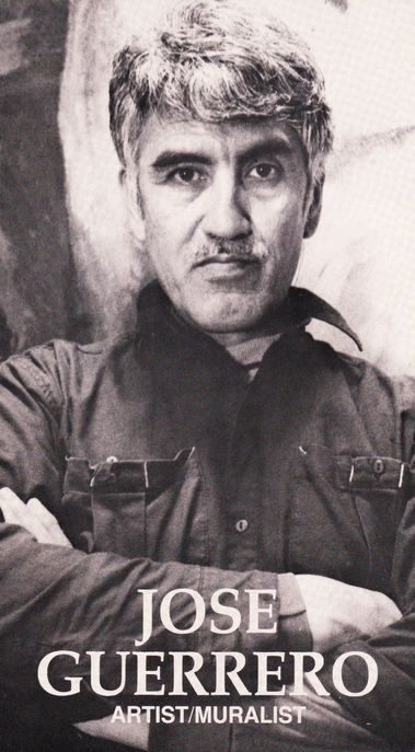 Guerrero in a self-published brochure from the early 90s
