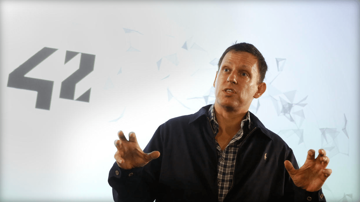 """Tech billionaire Peter Thiel recently told a Chicago audience: """"If you are a very talented person, you have a choice: You either go to New York or you go to Silicon Valley."""""""