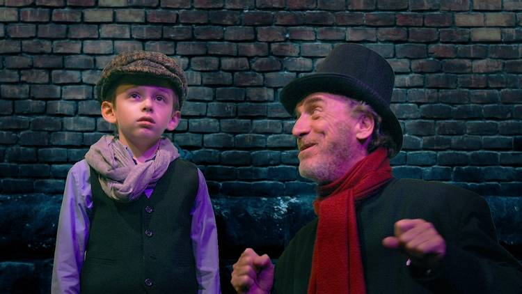 Citadel Theatre Company's <i>Scrooge and the Ghostly Spirits</i>