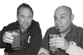 Sean Benjamin and Steve Mosqueda