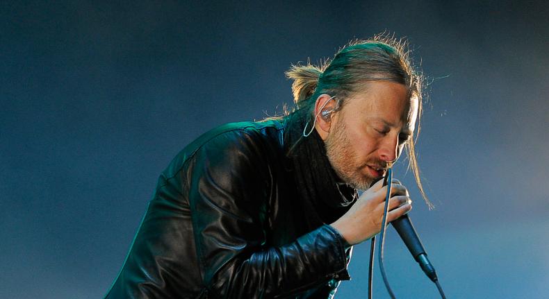 Radiohead headlines this year's Lollapalooza.